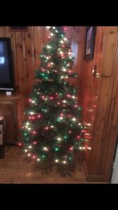 6.5 ft Christmas tree