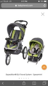 NEED GONE Baby Trend travel system