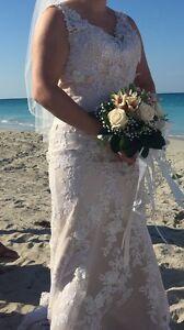 Size 8 wedding Dress