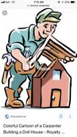 Carpentry work available