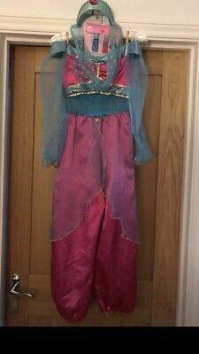 Disney Store Princess Jasmine Costume & Tiara Age 7-8