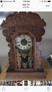 Ginger bread antique clock