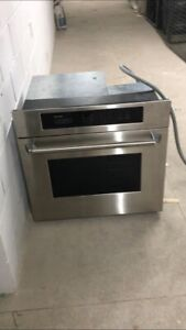 """30"""" Thermador wall oven stainless steel in good condition"""