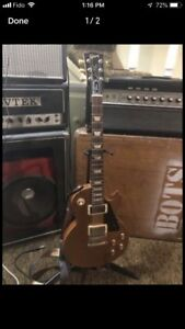 2017 Gibson Les Paul Tribute gold top