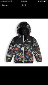 North Face Toddler Boy Reversible Perrito Jacket