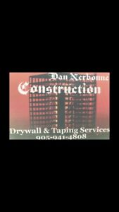 Drywall and Taping services big or small