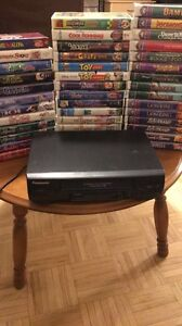 VCR+40 VHS Tapes