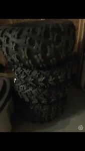 Brand new can am renegade tires