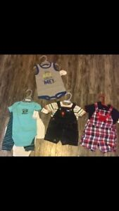3-6 month boy brand new outfits