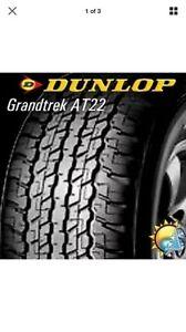 "Landcruiser 200 17"" tyre Dunlop AT22 NEW Highton Geelong City Preview"