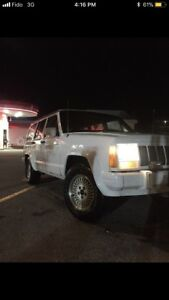 WINTER READY 4x4 CHEROKEE 1991 Jeep