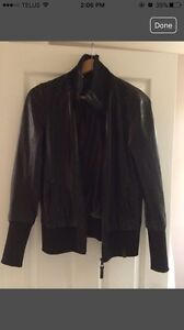 RUDSAK Manteau en cuir / leather jacket!