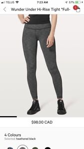 Lulu High rise wonder under leggings