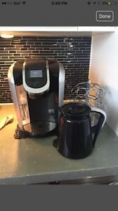 Keurig 2.0, Carousel and carafe