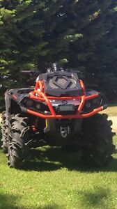 2016 outlander 850 xmr trade for 700 grizzly