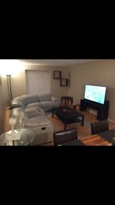 1 bedroom apartment furnished in oakville  - month to month