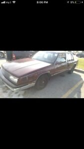 1988 buick lesabra rare only 79000 Kms