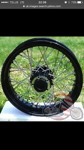Wanted 17x5.0 or 4.5 Harley rim or wheel