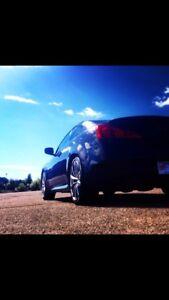 2008 Infiniti G37s (Nav, Command Start, Winter Rims/Tires)