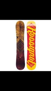 Rossignol board with Ride bindings