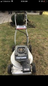Craftsman gas lawnmower