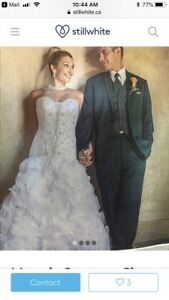 Maggie Sorretto wedding dress originally 3,500