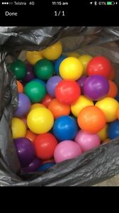 Bulk plastic balls for kids ball pit wanted Redcliffe Belmont Area Preview