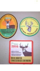 WANTED MNR HUNTING CRESTS