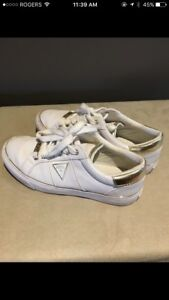 Like New White Guess Shoes