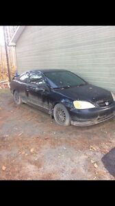 Honda Civic 2003 à vendre pour pièces