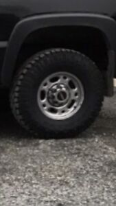 Gm 8 bolt rims and tires
