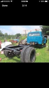 1967 Ford F500 cab and chassis