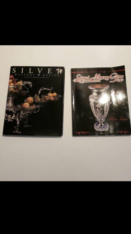 Silver History & Design Book And Silver Mercury Glass Catalog