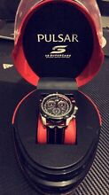 NEW Limited edition Pulsar V8 Supercars watch Carine Stirling Area Preview