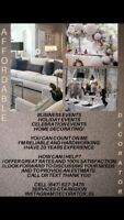 Affordable Decorating! Home & Event Decorator!