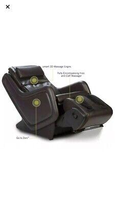 $3000 Human Touch ZeroG 4.0 Immersion Massage Chair Zero Gravity Recliner Brown