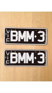 Bmw m3 number plates Essendon Moonee Valley Preview