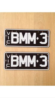 Bmw m3 number plates