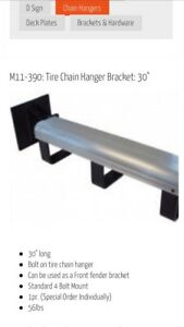 NIB: Bolt on Tire Chain Hangers- Pair