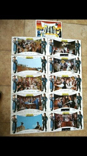 WRATH OF THE SWORD Original Poster and 11 Lobby Cards  NEW CONDITION