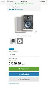 Polk Audio high-performance in wall speakers RC 65i