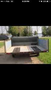 Double wide seld trailer