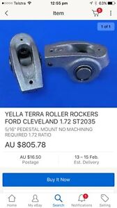 Ford Cleveland Yella Terra roller rockers bolt on 302 351 East Maitland Maitland Area Preview