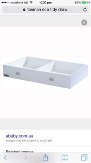 White Tasman Eco Cot Tidy Drawer/Trundle Drawer $120neg Merriwa Wanneroo Area Preview