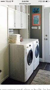 Fridgidaire Gallery front load washer dryer set