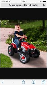 Peg Perego, my little red tractor