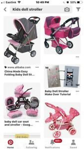 LOOKING FOR DOLL STROLLER.
