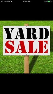 3rd Annual 2 Family Yard Sale - Saturday JULY 7 - Westgate