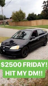 2004 Honda Civic Amazing Condition As-Is