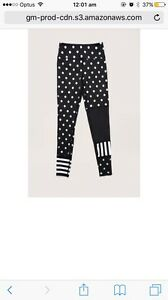 Gorman Spotty Exercise Pants/Leggings Size 10 Norwood Norwood Area Preview